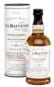 "The Balvenie 15yo ""Single Barrel"" but not #1300"