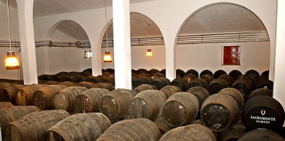 Some casks of Valdivia lying around...