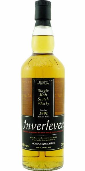 Inverleven 1991/2012 (40%, Gordon & MacPhail, AB/JDAD)