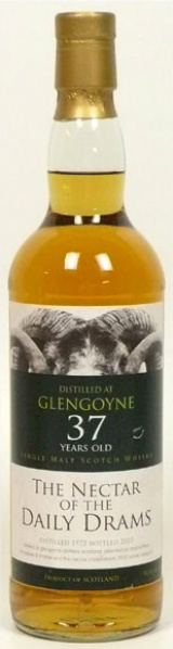 Glengoyne 37yo 1972/2010 (52%, The Nectar of the Daily Dram, The Nectar and Bresser & Timmer)