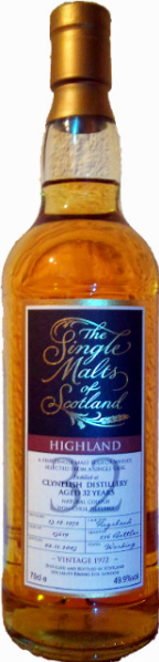Clynelish 32yo 1972/2005 (49.9%, The Single Malts of Scotland, Hogshead #15619, 226 bottles)
