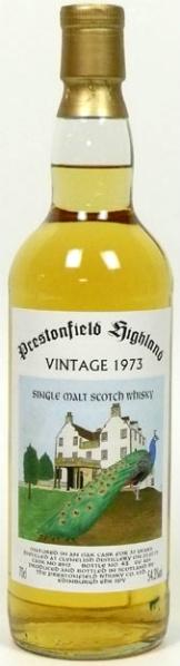 Clynelish 33yo 1973/2006 (54.3%, Signatory, Prestonfield, Cask #8912, 405 bottles)