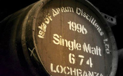 A Cask of Arran Single Malt
