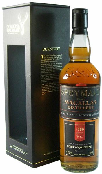 Macallan 1980/2012 (43%, Gordon & MacPhail, Speymalt)