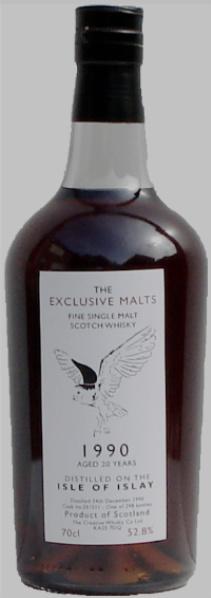 "Bunnahabhain 20yo 1990/2011 ""Isle of Islay"" (52.8%, The Creative Whisky Company, The Exclusive Malts, Cask #251211, 298 bottles)"