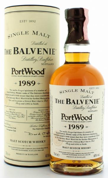 Balvenie 1989/2004 Portwood (40%, OB)