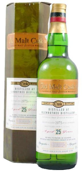 Glenrothes 25yo 1975/2001 (50%, Douglas Laing, Old Malt Cask, 600 bottles)