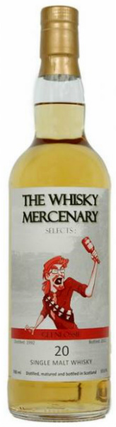 Glenlossie 20yo 1992/2012 (57%, The Whisky Mercenary, 144 bottles)