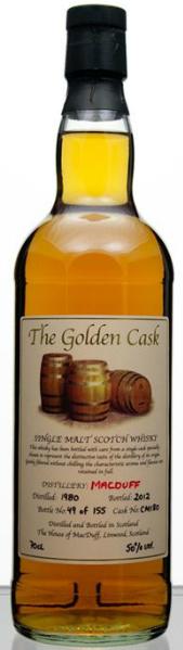 Macduff 32yo 1980/2012 (50.0%, The House of MacDuff, The Golden Cask, Cask CM 180, 155 bottles)