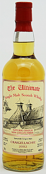 Craigellachie 8yo 2002/2011 (46%, The Ultimate, Sherry Butt #90067, 882 bottles)