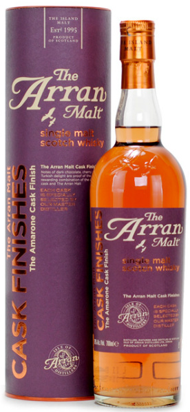 Arran Amarone Cask Finish (50%, OB, Violet label, Circa 2012)
