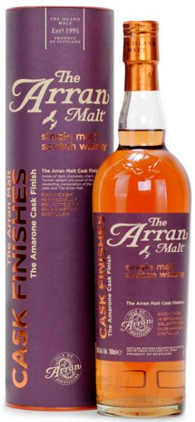 Arran Amarone Cask Finish (50%, OB, Violet label, Circa 2012)