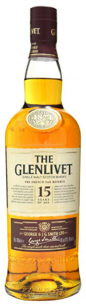 "Glenlivet 15yo ""French Oak Reserve"" (40%, OB)"