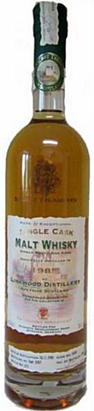 Linkwood 21yo 1985/2007 (43%, The Secret Treasures, Bourbon Cask #4548, 348 bottles)