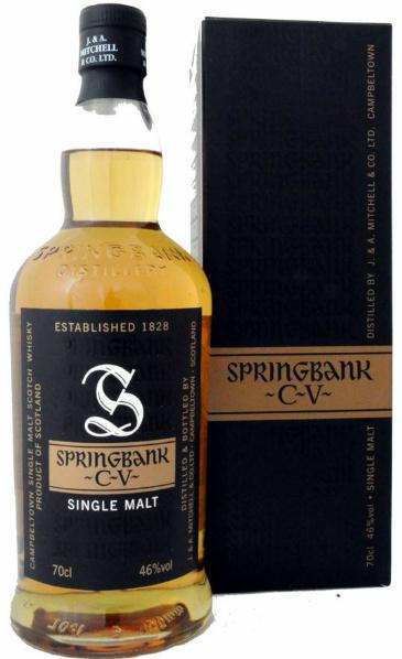 "springbank cv Springbank ""CV"" (46%, OB, 10/12) | Master Quill"