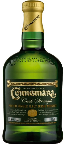 Connemara Cask Strength (mine looked like this but at 57.9% ABV)