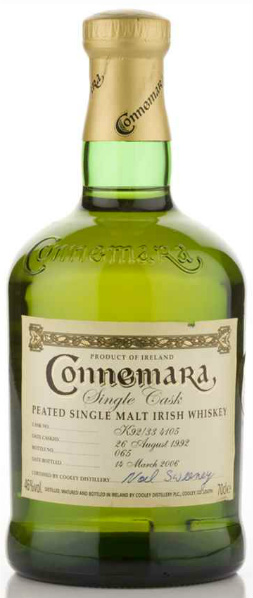 Connemara Single Cask (with a different cask number)