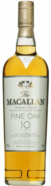 Macallan Fine Oak 10yo