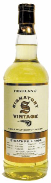 Strathmill 17yo 1992/2010 (43%, Signatory Vintage, Refill Butt #40711, 873 bottles)