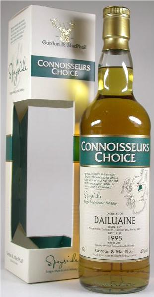 Dailuaine 14yo 1995/2010 (43%, Gordon & MacPhail, Connoisseurs Choice, Refill Sherry Hogsheads, AJ/AAFI)