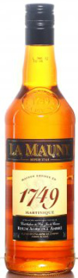 La Mauny Rhum Agricole Ambré (40%, Martinique)