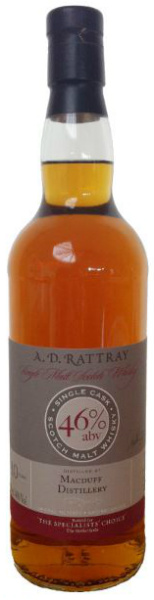 Macduff 10yo 2000/2011 (46%, Dewar Rattray, for Specialists Choice, First Fill Sherry Butt #5788, 360 bottles)