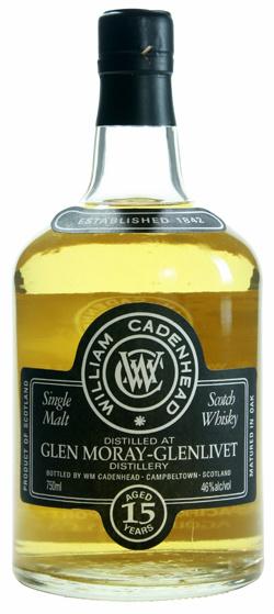 Glen Moray 15yo 1998/2013 (46%, Cadenhead, Bourbon Hogsheads, 684 bottles)