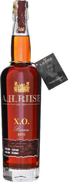 A.H.Riise X.O. Reserve Christmas Rum (40%, Saint Thomas, U.S. Virgin Islands)
