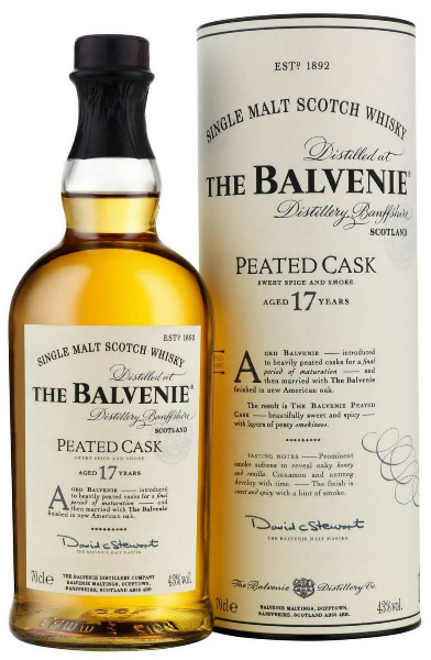 The Balvenie 17yo Peated Cask