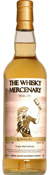 Bowmore 12yo The Whisky Mercenary