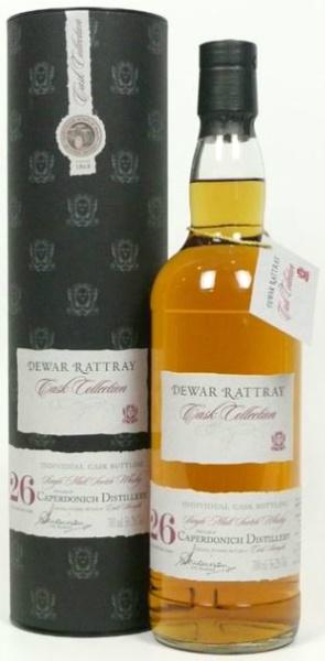 Caperdonich 26yo 1980/2007 (56.2%, Dewar Rattray, Bourbon Cask #7349, 164 bottles)