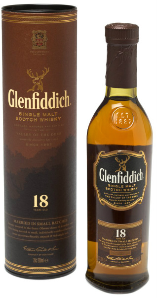 "Glenfiddich 18yo ""Married in Small Batches"" (40%, OB)"