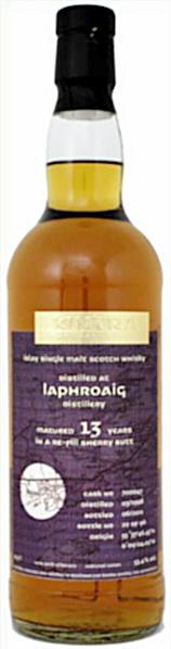 Laphroaig 13yo 1998/2011 (53.4%, Kintra, Refill Sherry Butt #700047, 96 bottles)