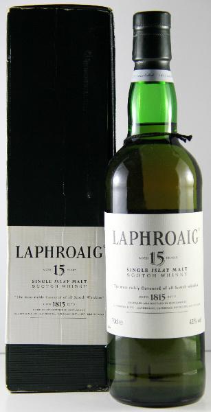 Laphroaig 15 Box