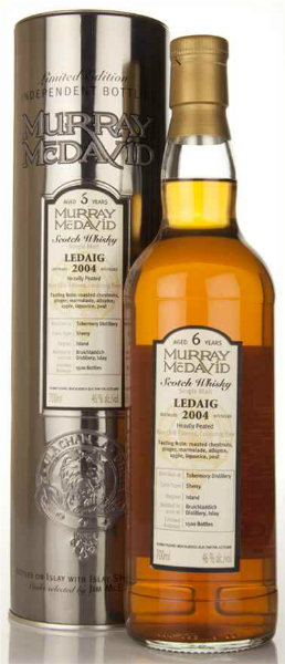 Ledaig 6yo 2004/2011 (46%, Murray McDavid, Heavily Peated, Sherry Cask, 1.500 bottles)
