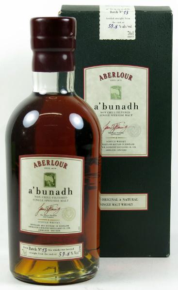 Aberlour 'A'bunadh' (59.8%, OB, Batch No. 13, 2005)