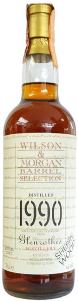 Glenrothes 1990/2002 (46%, Wilson & Morgan, Barrel Selection, Sherry Wood)