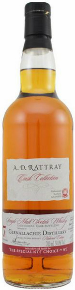 Glenallachie 7yo 2007/2014 (50%, Dewar Rattray, The Specialists' Choice, Sherry Butt #900168, 350 bottles)