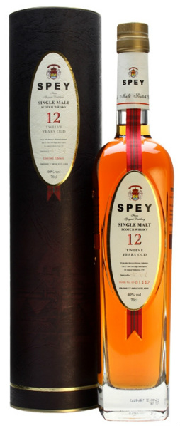 Spey 12yo (40%, OB, Selected Edition, Virgin Oak Finish, 8.000 bottles)