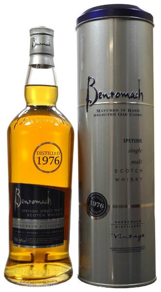 Benromach 1976-2012