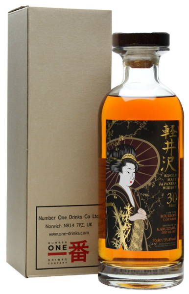 Karuizawa 30yo 1983/2013 (55.8%, OB, Geisha Label, for The Whisky Exchange, Bourbon Cask #8606, 350 bottles)