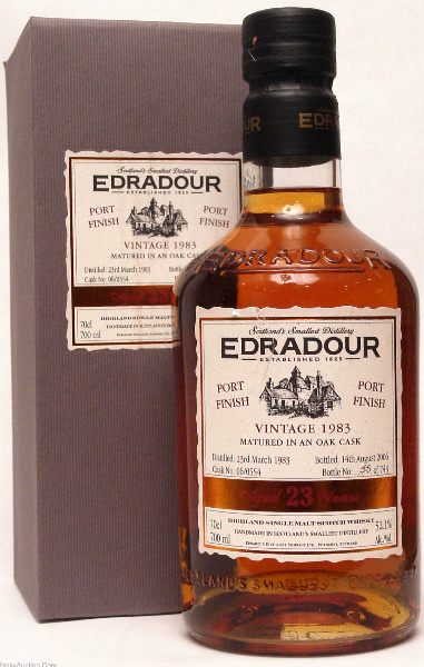 Edradour 23yo 19832006 (52.1%, OB, Port Cask Finish, Cask #060554, 743 bottles)