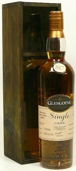 Glengoyne 12yo 1994/2006 (43%, OB, SC, Rum Finish, Cask #909310, 348 bottles)