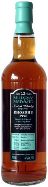 Rhosdhu 12yo 1996/2008 (46%, Murray McDavid, Bourbon Cask, 2.000 bottles)