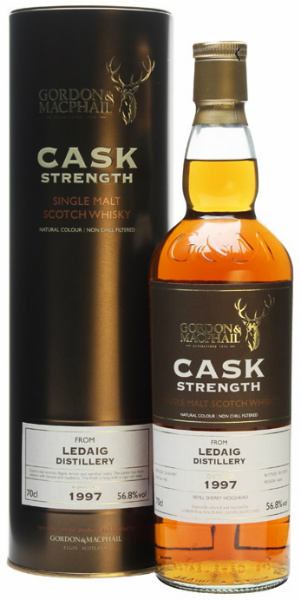 Ledaig 16yo 1997/2013 (56.8%, Gordon & MacPhail, Cask Strength, for The Whisky Exchange, Refill Sherry Hogshead #465)