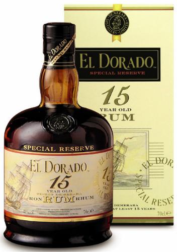 El Dorado 15yo (43%, Guyana)