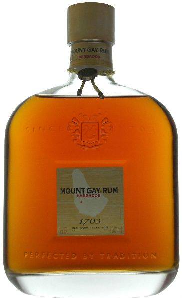 Mount Gay 1703 Old Cask Selection (43%, OB, Barbados)