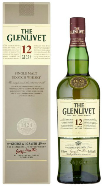 The Glenlivet 12yo (40%, OB, 2012)