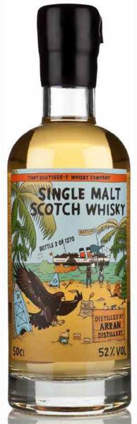 Arran Batch 4 (52%, That Boutique-y Whisky Company, 1270 bottles, 2014, 50 cl)