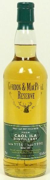 Caol Ila 13yo 1990/2003 (55.6%, Gordon & MacPhail, Reserve, Cask #1114, 283 bottles)